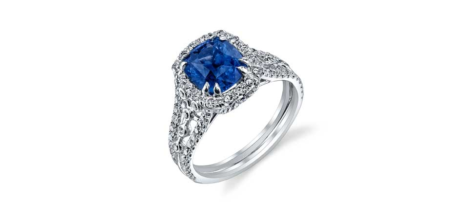 sapphire engagement ring austin